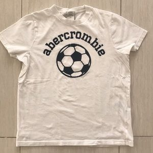Boys Abercrombie soccer muscle tee